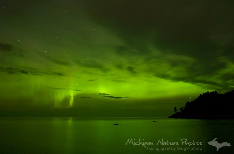 aurora polare del 6 agosto 2011
