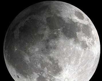 moon during penumbral eclipse