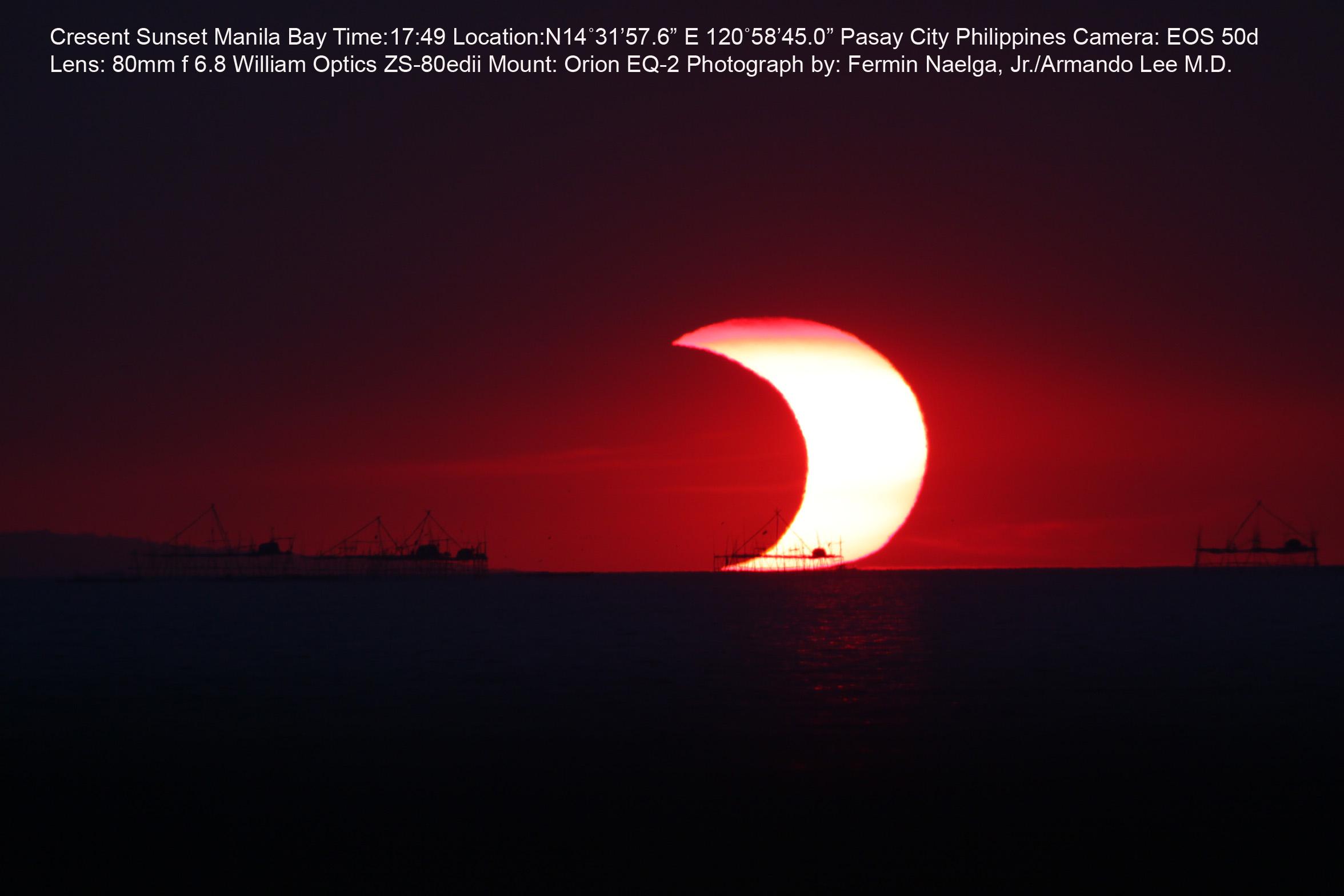 lunar eclipse manila