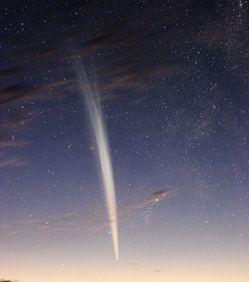 lovejoyfromearth strip ... watchers are seeing the comet almost as clearly as Burbank did. Amateur ...