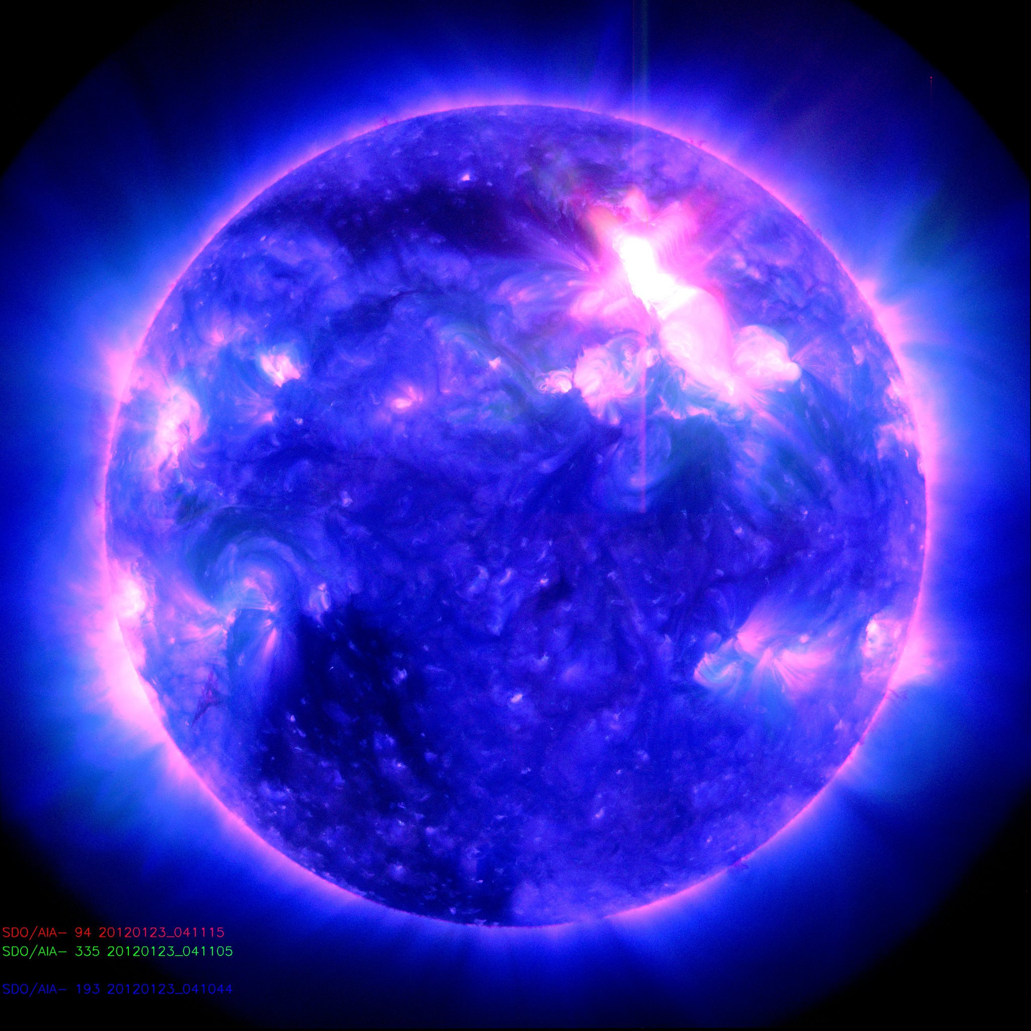 Solar storms lighting up the skies