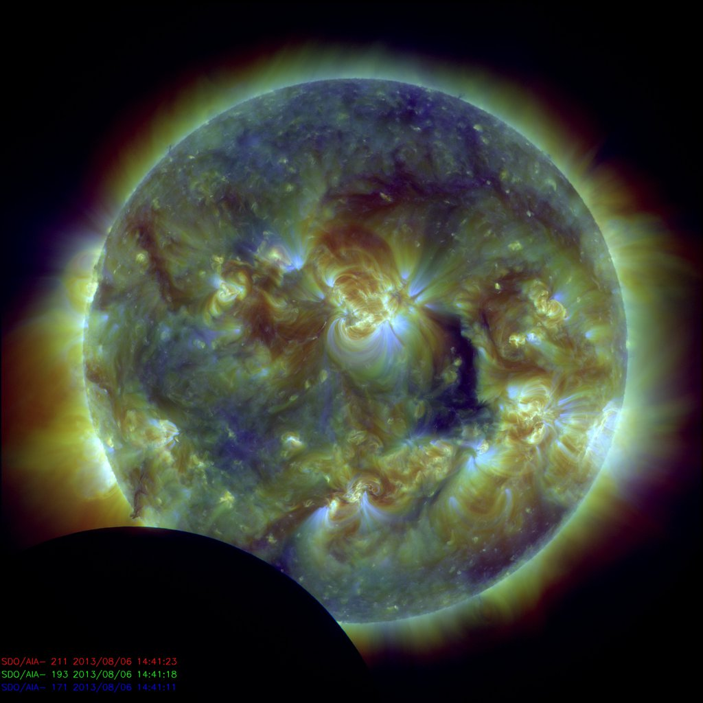 Solar Space Weather Pictures