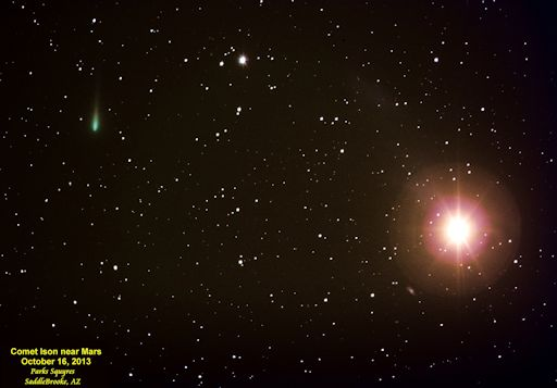 Cometa ISON Redgreen_strip
