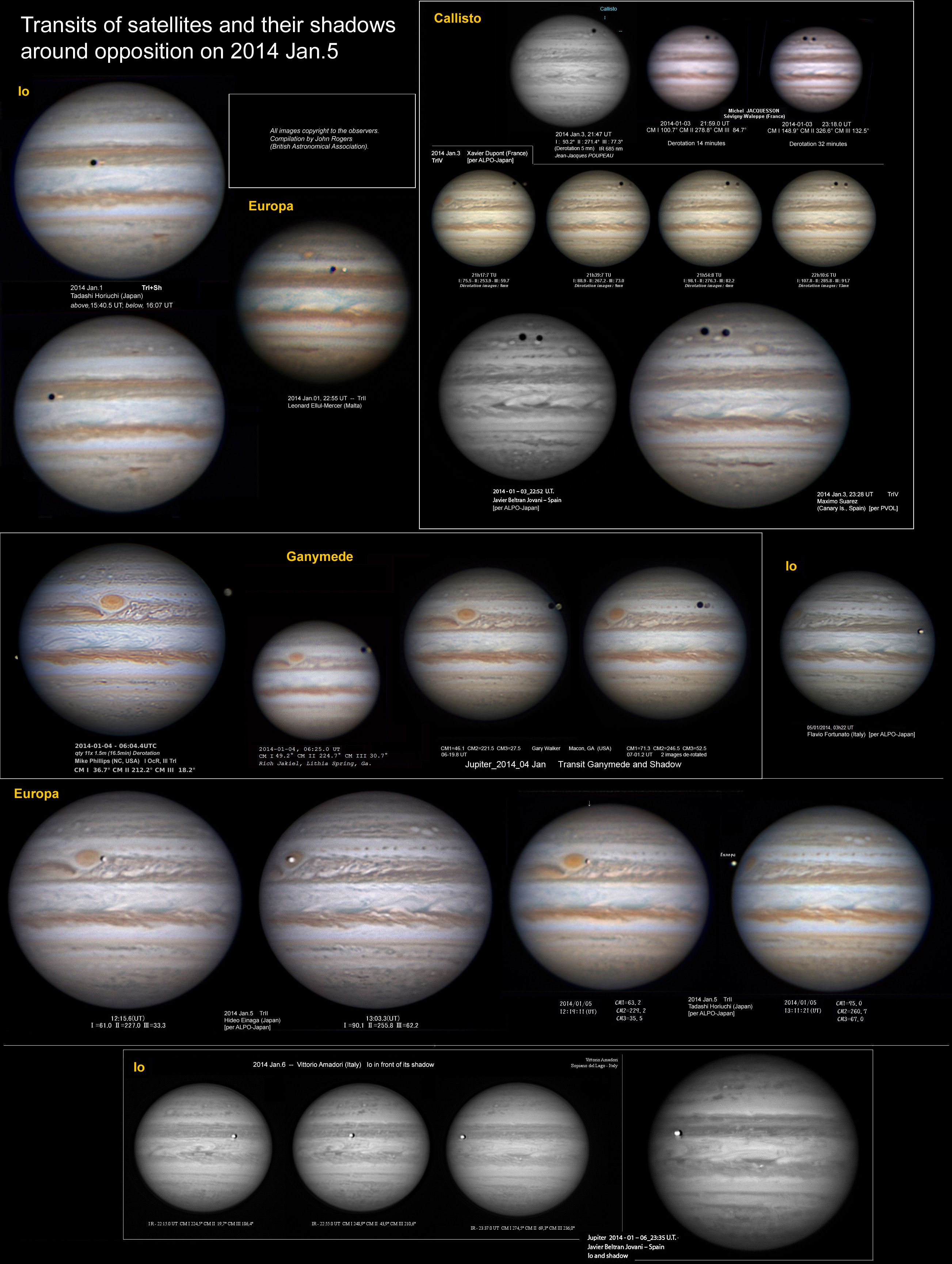 OUR PLANET EARTH: FASCINATING PHENOMENA OF JUPITER'S MOONS