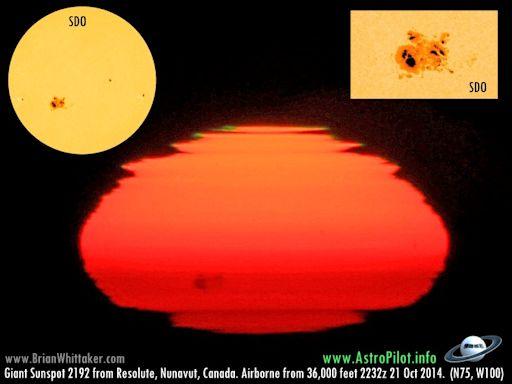 Nebezpečí sluneční erupce – obrovská sluneční skvrna o rozměrech Jupitera se otáčí směrem k Zemi