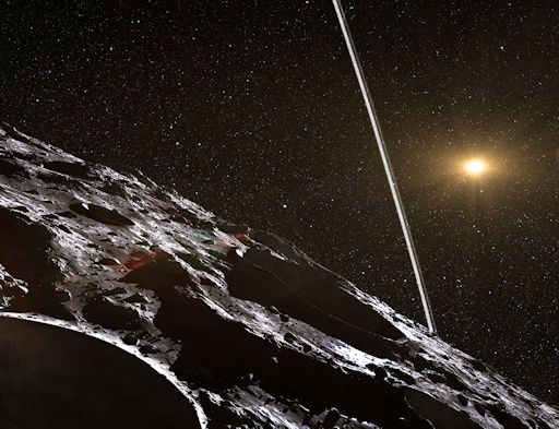 Extraño pero cierto - un asteroide con ANILLOS: Concept_strip