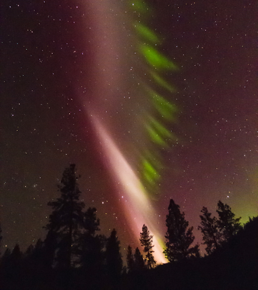 Space Weather aurora photo credit Rocky Raybell 05/07/2016