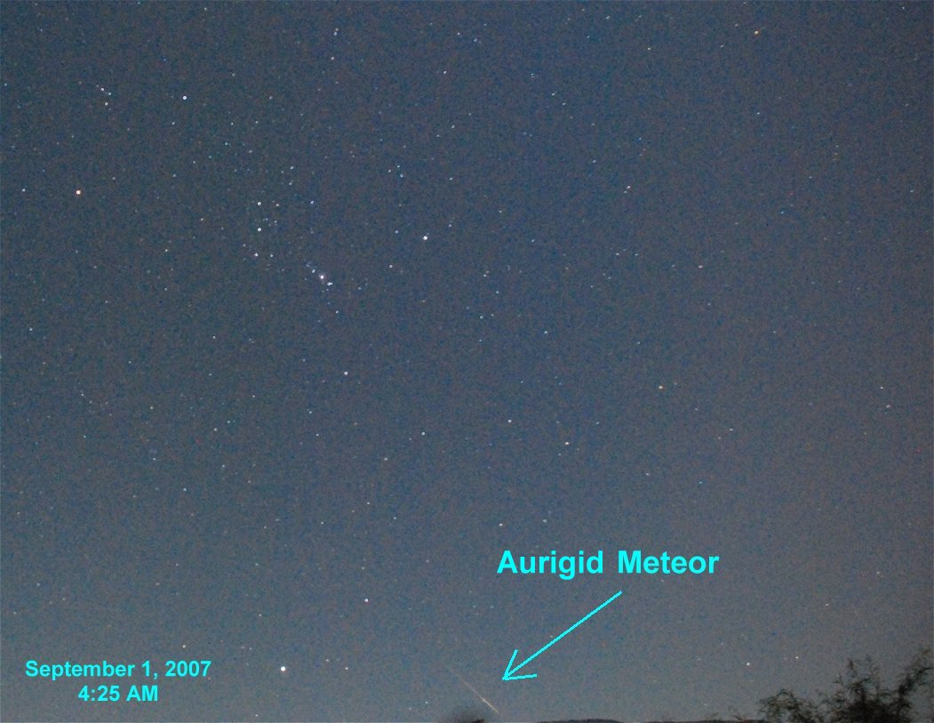 Spaceweather Com 2007 Aurigid Meteor Shower Photo Gallery Page 1