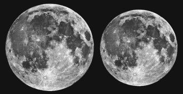 moon comparison